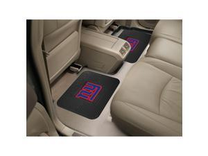 NFL - New York Giants  Backseat Utility Mats 2 Pack