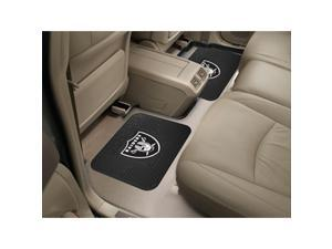 NFL - Oakland Raiders  Backseat Utility Mats 2 Pack