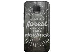 Amzer Designer Case - Lost In Forest for Motorola Moto G5s Plus XT1803