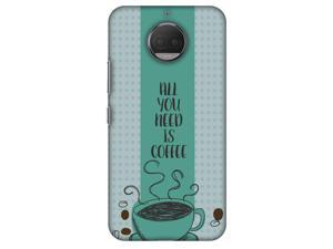 Amzer Designer Case - All You Need Is Coffee for Motorola Moto G5s Plus XT1803