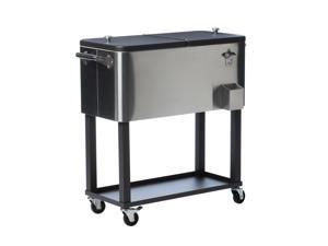 TRINITY Stainless Steel Cooler w/ Cooler Cover