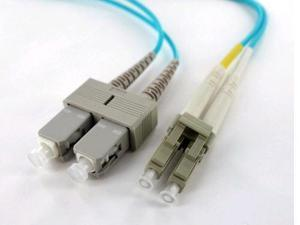Axiom LCSCOM4MD2M-AX Patch Cable - Sc Multi-Mode (M) To Lc Multi-Mode (M) - 6.6 Ft - Fiber Optic - 50 / 125 Micron - Om4