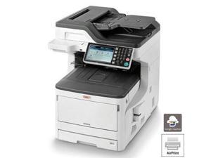Okidata MC873dn (62445301) Up to 35 ppm 1200 x 600 dpi USB/Ethernet Color Duplex LED Multifunction Laser Printer
