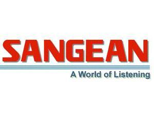 Sangean EU-55CL Clear Stereo Headphones Clear Full Size Headphones