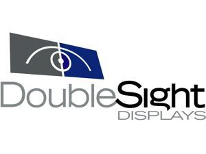 Doublesight Displays DS-25XE Full Motion Articulating Monitor Arm 20Lb Cap Clamp Lifetime