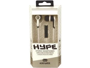 Ecko EKU-HYP-WHT Hype Earbuds With Microphone (White)
