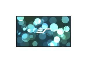 """Elite Screens Aeon AR100DHD3 Fixed Frame Projection Screen - 100"""" - 16:9 - Wall Mount"""