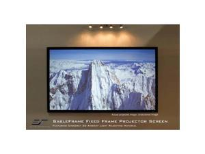 """Elite Screens SableFrame ER150DHD3 Fixed Frame Projection Screen - 150"""" - 16:9 - Wall Mount"""
