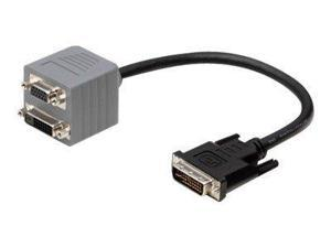 Belkin F2E7900-01-DS 1Ft Dvi-I Dual Link To Vga/Dvi-D Single Link Bag And Label
