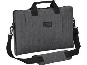 "Targus CitySmart TSS59404US Carrying Case (Sleeve) for 16"" Notebook - Gray - Scratch Resistant Interior, Water Resistant - Nylon - Handle, Shoulder Strap - 11"" Height x 15.5"" Width x 1.6"" Depth"