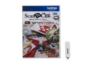 Brother CAUSB1 Scanncut Quilt Pattern Collect