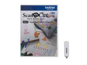 Brother CAUSB2 Scanncut Applique Pattern Coll
