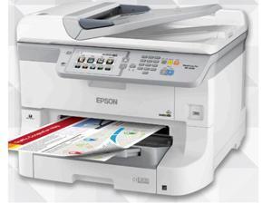 Epson WorkForce Pro WF-8590 (C11CD45201) 4800 dpi x 1200 dpi wireless/USB color Inkjet Workgroup Printer