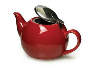 Epoca PTCRE-5224-T Ceramic Teapot With Infuser Red