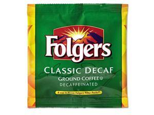 Folgers 2550006547 Coffee Filter Packs, Decaffeinated, In-room Lodging, .9 Oz, 200/carton