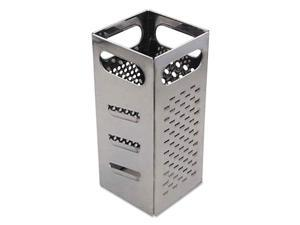 Adcraft BXGR-4 Grater, 4-Sided, Stainless Steel