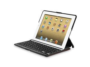 Zagg ZAGGfolio Case w/ Bluetooth Keyboard for Apple iPad 2 / 3 / 4 - Alligator Leather Brown
