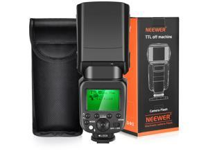 Neewer 2.4G HSS 1/8000s TTL GN58 Wireless Master Slave Flash Speedlite for Sony A7 A7R A7S A7II A7RII A7SII A6000 A6300 A6500 A77II A58 A99 RX10 Cameras with Hard Diffuser (NW630)
