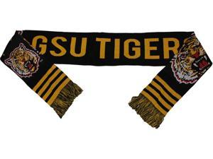 "Grambling State Tigers S2 Mens Scarf [Black - 80"" x 7""]"