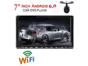 "Eincar Universal 7"" Double Din Car Stereo in Dash DVD Player Capacitive Touchscreen Radio Sat Nav Android 6.0 Marshmallow GPS Navigation Support Bluetooth/USB/SD/FM/AM Video/Steering Wheel Control In"