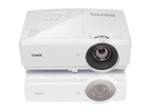 BenQ MH741 Full HD 1920x1080, 4000 ANSI Lumens, Dual HDMI / MHL inputs, USB 1.5A Power, Corner fit geometric correction, 10W Speakers, 3D Ready DLP Data Projector