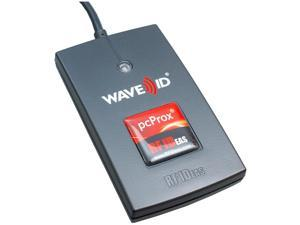 RF IDeas - RDR-60D2AKU - RF IDeas pcProx 82 Smart Card Reader - Contactless - Cable3 Operating Range - USB Black