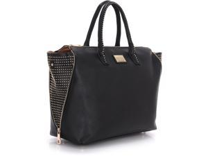 "The Milan Wing Tote is a classic design and will fit up to a 15.6"" laptop + your tablet device up to 10.1""."