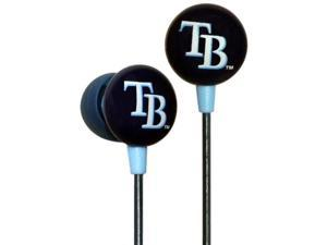 MLB Logo Earbuds - Tampa Bay Rays