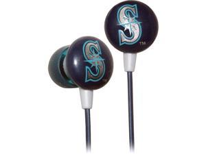 iHip MLB Officially Licensed Ear Bud Headphones - Seattle Mariners