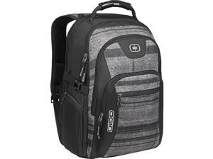 """Ogio Urban Carrying Case (Backpack) for 17"""" Notebook, Bottle, Tablet, iPad, Digital Text Reader, Accessories - Envelope Gray"""