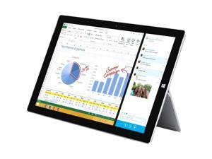 "Microsoft Surface Pro 3 QG2-00021 Intel Core i5 4300U (1.90 GHz) 8 GB Memory 256 GB SSD Intel HD Graphics 4400 12.0"" FHD 2160 x 1440 Touchscreen Tablet Windows 10 Pro"