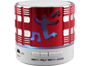 SUPERSONIC SC-1460BTRD BT Speaker w Speakerphone Red