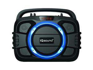 Supersonic - IQ-2400BTBLU - Supersonic SoundBox IQ-2400BT Speaker System - Portable - Battery Rechargeable - Wireless