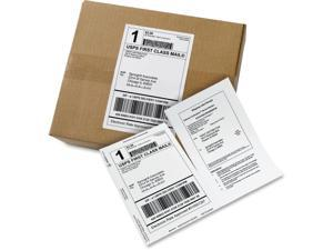 Avery Paper Receipt White Shipping Labels