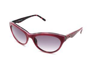 Just Cavalli Women's Cat Eye Sunglasses Red/Dark Rose