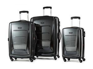 Samsonite Luggage Winfield 2 Fashion HS 3 Piece Set Black