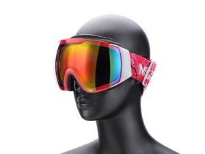 Weanas® Double Lens Anti-fog Snow Googles Ski Goggles Eyewear, Lightweight Windproof Comfortable, for Snow, Skiing, Snowboarding (Black)