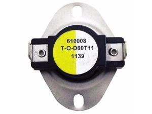 Supco L140 Therm-O-Disc Fan and Limit Thermostat