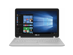 "2017 Newest Asus Q504UA 2-in-1 15.6"" Full HD Touch-Screen Laptop (7th Intel Core i5-7200U Processor 2.5GHz, 12GB DDR4 Memory, 1TB HDD, Aluminum  Silver)"
