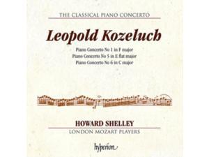 Leopold Kuzeluch:Piano Concertos [Howard Shelley&#59; London Mozart Players] [Hyperion: CDA68154]