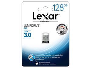 Lexar 128GB JumpDrive S45 USB 3.0 Flash Drive, Speed Up to 150MB/s (LJDS45-128ABNL)