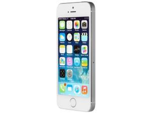 Apple iPhone 5S Silver 32GB Unlocked GSM Smartphone