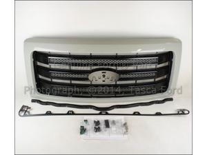 OEM Radiator Grille Paint To Match 2014 Ford F150 #EL3Z-8200-APTM