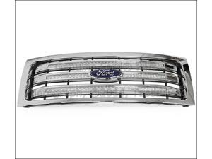 OEM Three Bar Chrome Radiator Grille 2009-2014 Ford F150 #DL3Z-8200-AB