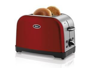Oster 2-Slice Toaster, Red Metallic TSSTTRWF2R