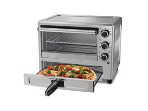 Oster Stainless Steel Convection Oven with Pizza Drawer TSSTTVPZDS
