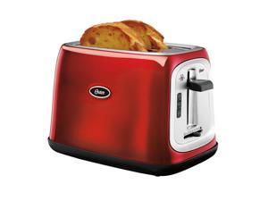 Oster 2-Slice Toaster, Metallic Red TSSTTRJB07-NP