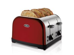 Oster 4-Slice Toaster, Red Metallic TSSTTRWF4R
