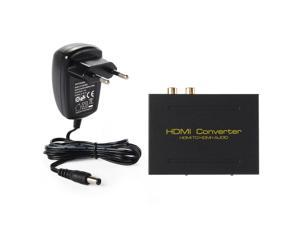 Xcsource® 1080P HDMI TO HDMI Optical+SPDIF+RCA L/R Extractor Converter Audio Splitter AC277