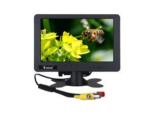 "Hopezone EYOYO S701 1024*600 7""inch Portable LCD TV Video Monitor BNC AV Built-in Speaker"